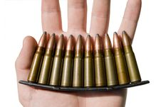 Free Ammunition Royalty Free Stock Image - 5462616