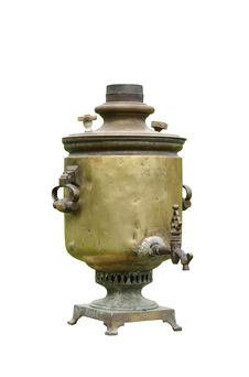 Free Ancient Russian Samovar Royalty Free Stock Image - 5462766