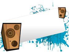 Free Loudspeaker Text-template Stock Photos - 5462943
