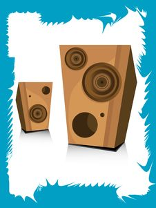 Free Loudspeakers Royalty Free Stock Photo - 5463005