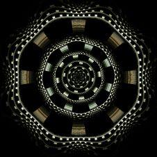 Free Checkered Dart Board Stock Photo - 5463080