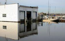 Free Boathouse Stock Image - 5463241