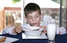 Free Eating Cereal Royalty Free Stock Images - 5463549