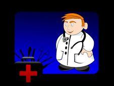 Free Male Surgeon Royalty Free Stock Photos - 5463708