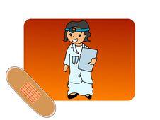 Free Bandage And Nurse Stock Photos - 5463723