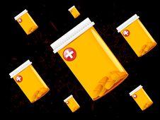 Free Medicine Jars Stock Images - 5463724
