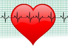 Free Heartbeat Stock Photography - 5463732