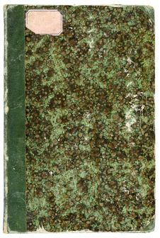Free Old Book With Cover In Imitation Of Stone. Royalty Free Stock Photos - 5464168