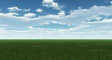 Free Green Field Stock Image - 5464341