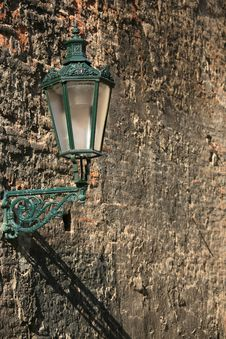Free Lamp On The Wall Stock Photos - 5464373