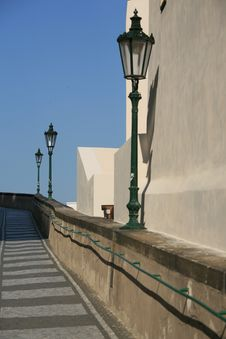 Free Lane To Prague Castle. Stock Photography - 5464392