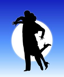 Free Moonlight Dance 7 Royalty Free Stock Photography - 5464507
