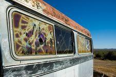 Free Abandoned Bus Royalty Free Stock Photo - 5464575