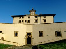 Free Belvedere Fortress In Florence Stock Image - 5464641