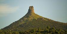 Free Mount Ruinas In Sardinia Royalty Free Stock Images - 5464779