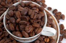 Free Coffee Beans Royalty Free Stock Image - 5464816