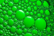 Free Water Bubbles Closeup. Stock Photo - 5464830