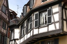 Free Traditional Alsatian House Royalty Free Stock Photos - 5467138
