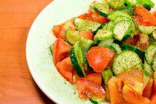 Free Salad Close Up Stock Images - 5467194