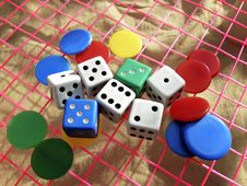 Free Dice Games Stock Photography - 5468162