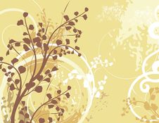 Free Floral Background Series Royalty Free Stock Images - 5468389