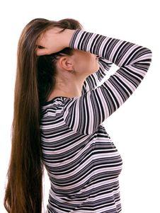 Free Long Female Hair Stock Photos - 5468563