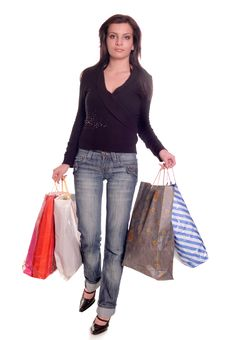 Free Summer Shopping Royalty Free Stock Image - 5468826