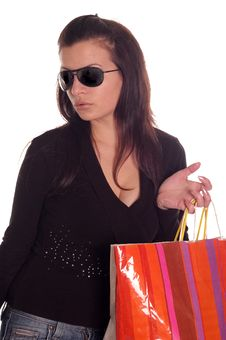 Free Summer Shopping Stock Image - 5468891