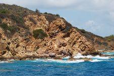 Free St.Thomas Island Coast Stock Image - 5469371