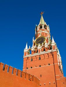Free Spasskaya Tower Stock Images - 5469604
