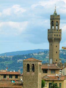 Free The Tower Of Palazzo Vecchio Stock Photo - 5469670