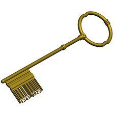 Free Digital Barcode Key Stock Photo - 5469680