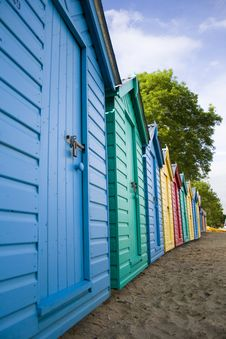 Free Beach Hut Royalty Free Stock Photography - 5469727