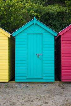 Free Green Beach Hut Stock Images - 5469814