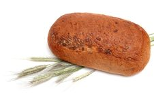 Free Bread With Wheat Ears. Stock Photography - 5469982