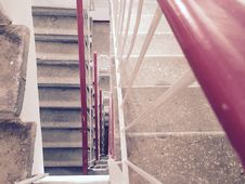 Free Down The Stairs Stock Photography - 54681102