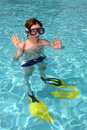 Free Boy Diver Stock Images - 5473294