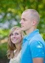 Free Girl Admiring Her Man Royalty Free Stock Image - 5475206
