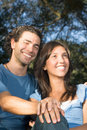 Free Smiling Couple - Close Up - Vertical Royalty Free Stock Photo - 5479935