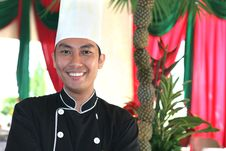 Chef Smiling Royalty Free Stock Photos