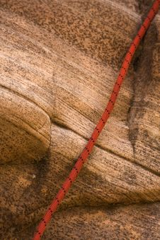 Free Canyoneering Rope Stock Photo - 5471140