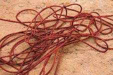 Free Canyoneering Rope Stock Photography - 5471152