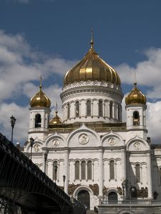 Free Moscow Church Royalty Free Stock Photography - 5471387