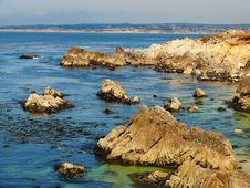 Free Monterey Coast Line Stock Photo - 5471550