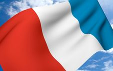 Free Flag France Royalty Free Stock Photos - 5471728