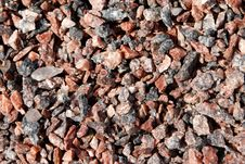 Granite Gravel Stock Photos