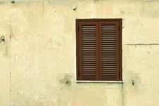 Window Shutters Stock Photo