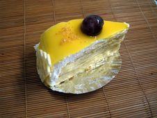Free Mango Cake Stock Photo - 5472030