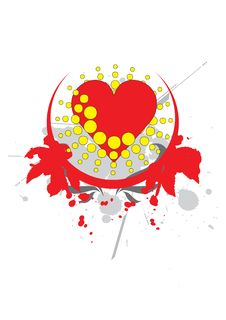 Free Heart - Vector Royalty Free Stock Images - 5472349