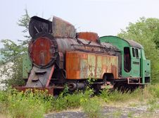 Old Puffer Train Stock Images
